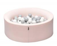 TINY REPUBLIC ballbasseng 90x30 - rosa