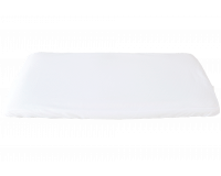 Heybasic 3D lux air strekklaken til vugge 40x84 cm - Hvit